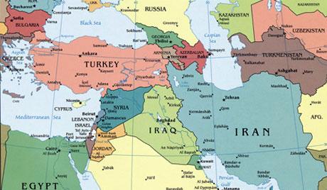 Turkey Country World Map